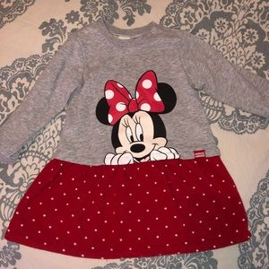 Toddler girl Minnie Mouse Sweater Dress